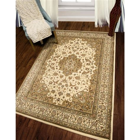 Rug 2 X 5 by Home Dynamix Bazaar Zag Brown 5 Ft 2 In X 7 Ft 2