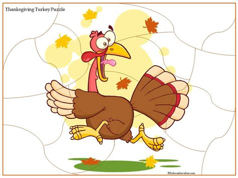 printable thanksgiving jigsaw puzzles thanksgiving scared turkey jigsaw puzzle http www