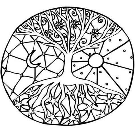imagenes de mandalas de la naturaleza significados del arbol de la vida y los mandalas de