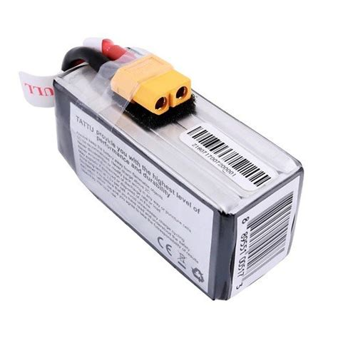 Töff Batterie by Tattu Funfly Serie 1300mah 14 8v 100c 4s1p Batterie Lipo