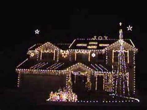 Christmas Lights Synchronized Carol Of The Bells Fav You Light Synchronized