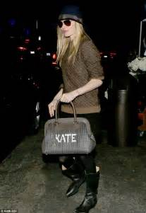 Kate I Run Around My House by Kate Bosworth Carries Around Personalised Kate Bag For