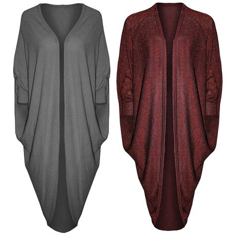 oversized draped cardigan womens long draped oversized batwing cocoon open cardigan