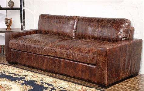 low leather couch low back maxwell leather sofa with squared off seat and