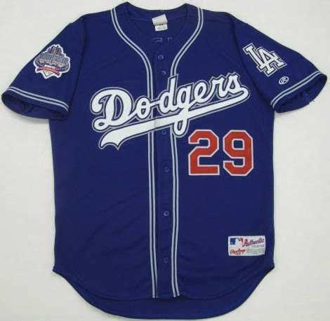 los angeles dodgers blue alternate 1999 2000 jersey