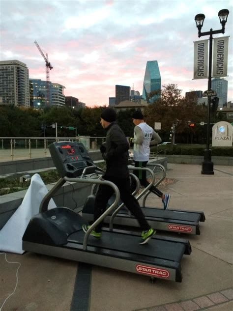 ace hardware treadmill 12 hour treadmill challenge helps dallas homeless get back