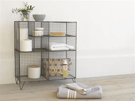 bathroom wire shelving new launch bathroom range from loaf mad about the house