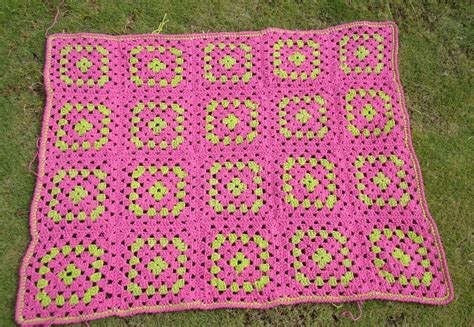 Squares Baby Blanket by A Hastily Made Square Baby Blanket Yarn