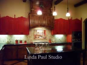 Kitchen Murals Design Mexican Tile Murals Chili Pepper Kitchen Backsplash Mural