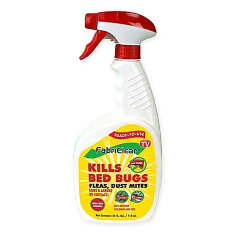 fabriclear  oz bed bug spray bed bath