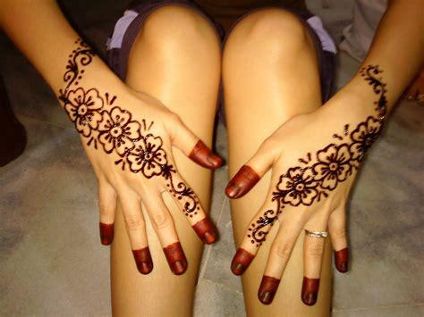 tato henna di kaki henna simple di kaki makedes