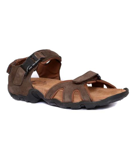woodland leather sandals woodland brown leather sandals for price in india buy