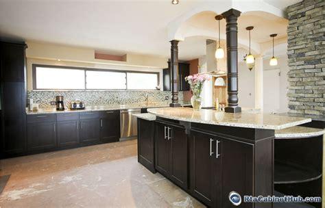espresso cabinets kitchen rta kitchen cabinets espresso shaker rta cabinet hub
