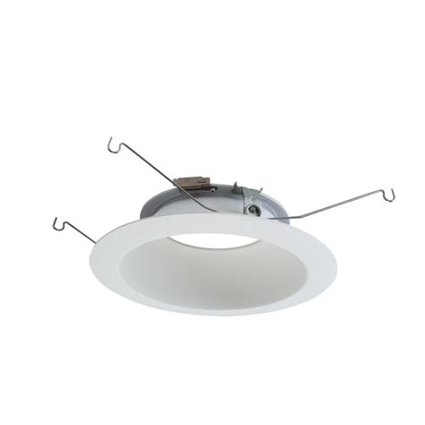 ceiling light reflector halo ml 6 in white led recessed ceiling light reflector