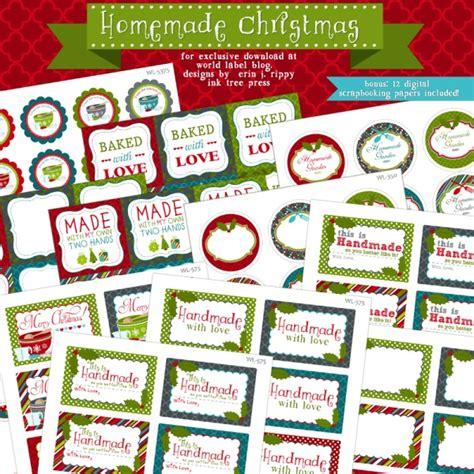 printable christmas baking tags free christmas labels worldlabel blog