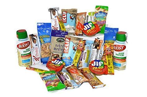 protein gift basket high protein healthy snack box individually wrapped