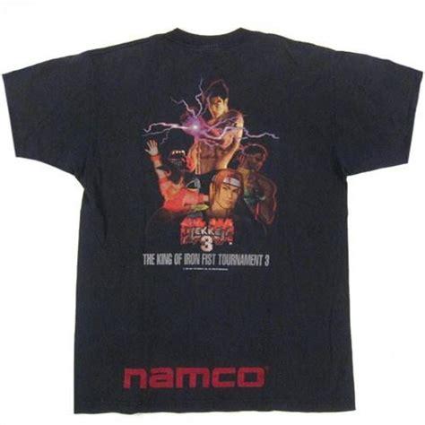 t shirt tekken 00 vintage namco tekken 3 t shirt gamer 1996