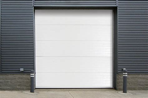 door overhead insulated sectional steel back doors