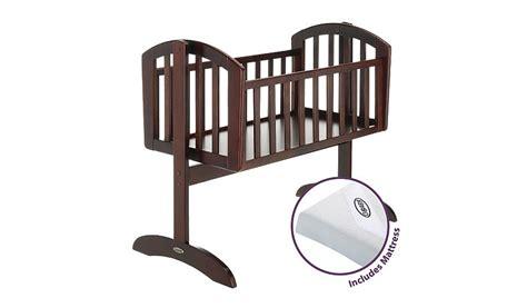 Obaby Crib Mattress Obaby Swinging Crib Mattress Walnut Cots Cot Beds George At Asda