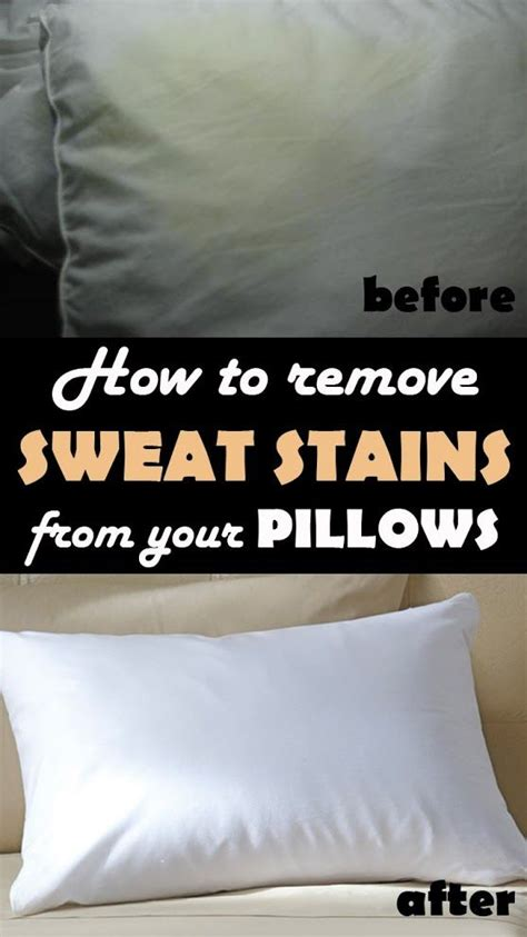 How Do You Get Sweat Stains Out Of A Mattress by How To Remove Sweat Stains From Your Pillows Continue