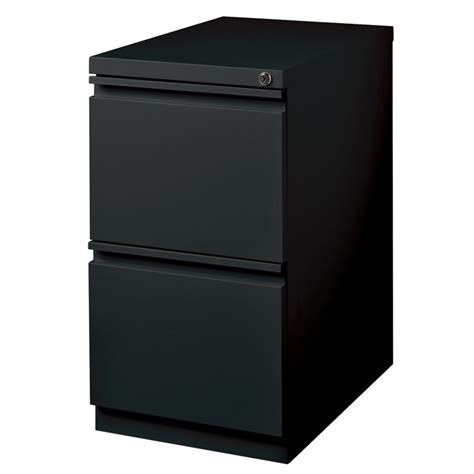 hirsh 2 drawer file cabinet hirsh industries 2 drawer mobile file cabinet in black 19306
