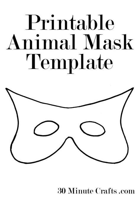villain mask template printable animal mask templates quot popular pins