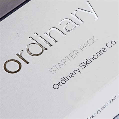 The Ordinary Niacinimide Pack 5ml starter pack ordinary skincare co
