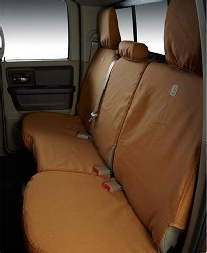 seat covers for f150 bench seat 2015 2017 f150 covercraft carhartt custom second row seat