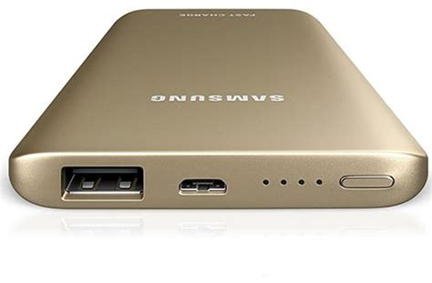 Powerbank Samsung Fast Charge 5200mah Original Silver 1 samsung power bank battery 5200 mah gold color price review and buy in dubai abu dhabi and