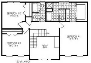 Two Story Open Floor Plans 2 Story Open Floor Plan Images