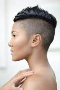black hair with shafed sides shaved hairstyles beautiful hairstyles
