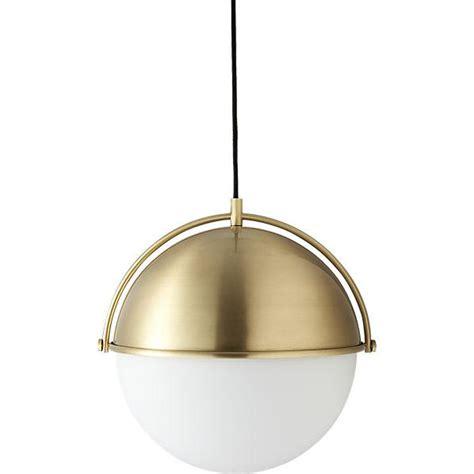 Globe Pendant Lighting Brass Globe Pendant Light