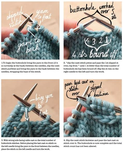 how to make button holes when knitting technique thursday ysolda one row buttonholes knitting