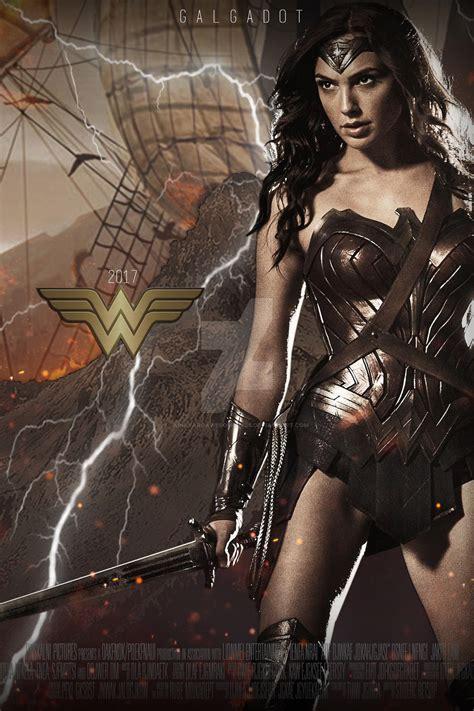 film online wonder woman 2017 wonder woman gal gadot movie poster 2017 hd by