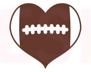 Rug Store Dallas Football Heart Design Svg Dxf Eps Cutting Files For