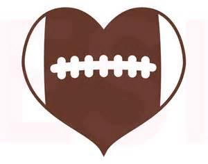 similiar football heart silhouette keywords