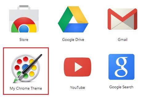 chrome theme app design your own customize google chrome theme and share it