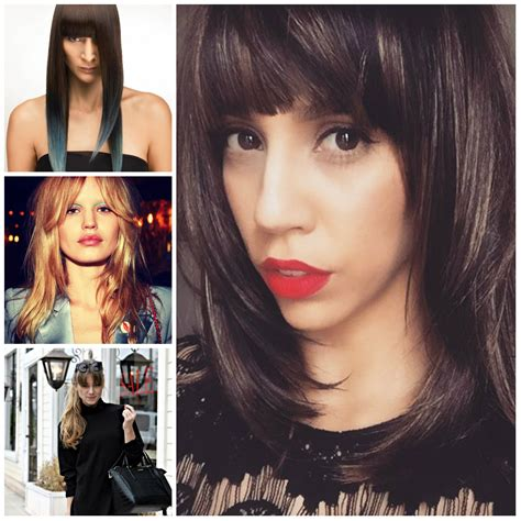 Hairstyles Bangs 2017 by Cool Hairstyles With Bangs For 2017 2017 Haircuts