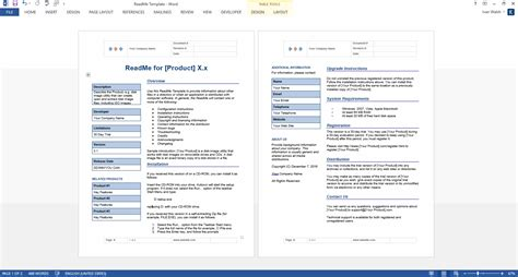 technical document template commonpence co