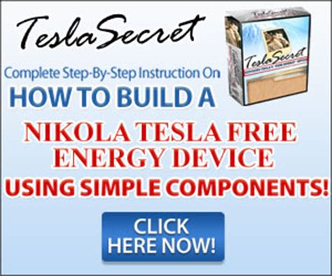 Nikola Tesla Free Energy Device Pdf Nikola Tesla Free Energy Device Review 101