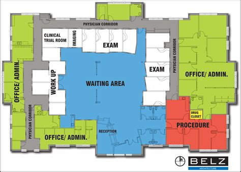 Clinic Design For A Modern Retina Practice Floor Plan