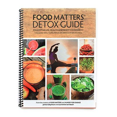 The Detox Guide by All Products Food Matters 174 Store