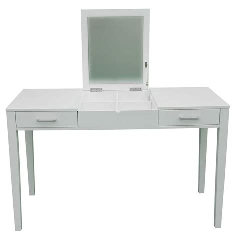 white vanity desk with drawers vanity makeup dressing table up desk with flip