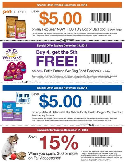 printable grocery coupons alberta global pet foods canada new printable coupons save on pet