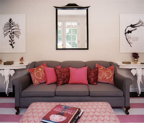 pink living rooms lonny pink living room simplified bee
