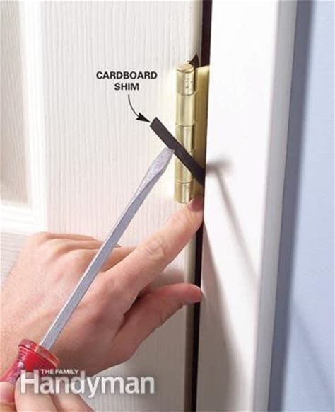 Interior Door Gap Fix interior door repair interior doors that won t stay