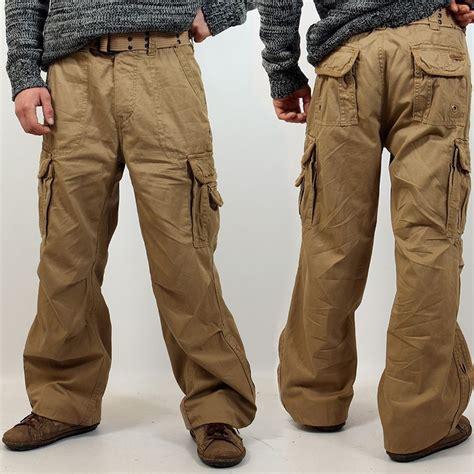 pantalons treillis homme pantalon treillis surplus quot cargo royal quot beige taille s