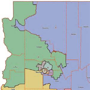 arizona voting districts map arizona 4th congressional district map and rep in 113th us