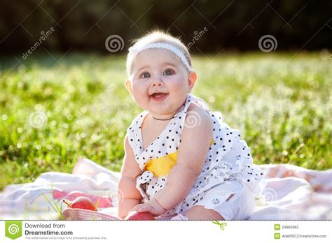 small beautiful pics a small beautiful girl smile stock photo image 24865962
