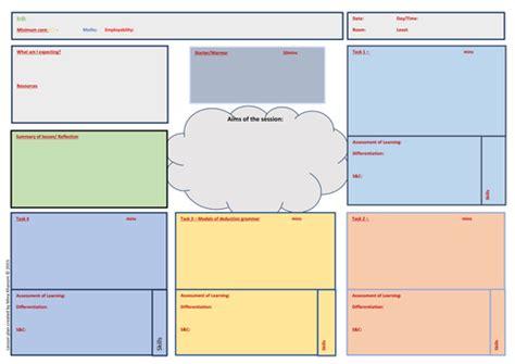 lesson plan template mcgill grade 1 lesson plan template